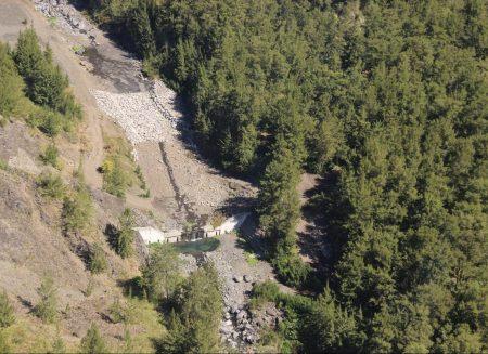 Travaux de protection du lit de la Ravine Roche à Jacquot